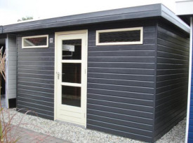 Tuinhuis project showterrein